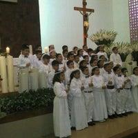 Photo taken at Parroquia de Nuestra Señora de Guadalupe by Lore C. on 11/24/2012