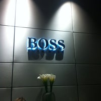 Photo taken at BOSS Store by Andre V. on 11/16/2012