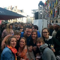 Photo taken at Aper'eau grote Markt by Pieter V. on 5/30/2014