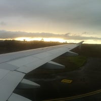 Photo taken at Aeropuerto La Florida (LSC - SCSE) by Macarena O. on 10/7/2012