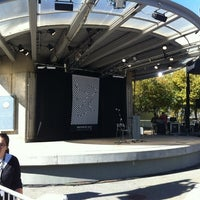 Photo taken at Rosa Parks Circle by Laura C. on 9/30/2012