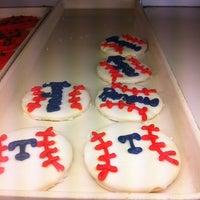 Photo taken at Swirl Bakery by Elaine K. on 4/6/2013