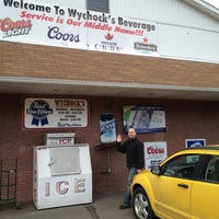 Photo taken at Wychock's Beverage by Bobby on 3/10/2013