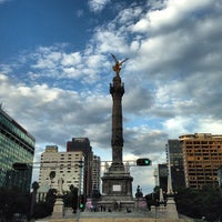 Photo taken at Monumento a la Independencia by Liliana B. on 7/16/2013