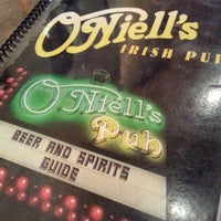 Photo taken at O'Niell's Irish Pub by Rip W. on 9/30/2012