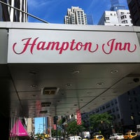 Photo taken at Hampton Inn Manhattan - Times Square North by Orsini G. on 8/5/2013