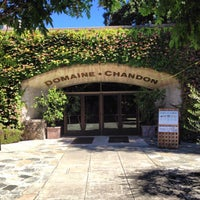 Photo taken at Domaine Chandon by Sam G. on 8/30/2013
