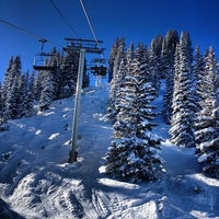 Photo taken at Wildwood Express - Chair 3 by Sam G. on 12/25/2013