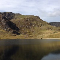 Photo taken at Llyn Idwal by Will C. on 9/29/2014