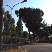 Photo taken at A.S. Roma - Centro Sportivo Fulvio Bernardini by Yasin H. on 7/10/2013