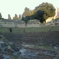 Photo taken at Teatro Romano by Nadiya S. on 7/2/2013