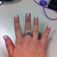 Photo taken at LA Nails by Brittany P. on 12/11/2012