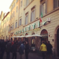 3/3/2013 tarihinde Polina B.ziyaretçi tarafından Giolitti'de çekilen fotoğraf