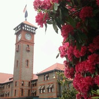 Photo taken at Union Station Amtrak (PDX) by C A. on 5/15/2013