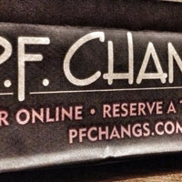 Photo taken at P.F. Chang's Asian Restaurant by Erick on 10/8/2012