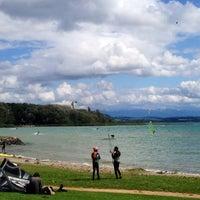 Photo taken at Port de St-Blaise by Rocco B. on 8/16/2014
