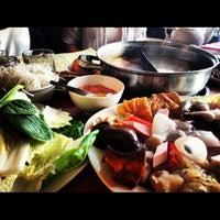 Photo taken at La Mei Zi Restaurant (辣妹子火锅) by Loh Y. on 4/26/2013