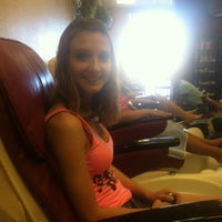 Photo taken at Pure Nails by Kel T. on 3/8/2014