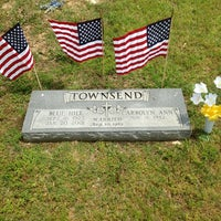 Photo taken at Blue Holl Townsend gravesite by Scott T. on 5/27/2013