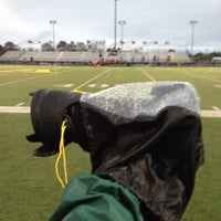 Photo taken at Avon High School Oriole Stadium by Bob S. on 10/5/2012