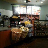 Photo taken at Einstein Bros Bagels by Carlos R. on 1/24/2014