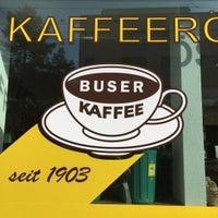 Das Foto wurde bei Kaffeerösterei Buser Kaffee von Jonas M. am 9/28/2016 aufgenommen