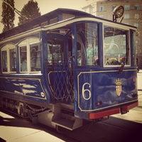 Photo taken at Tramvia Blau by Daria ✿ M. on 3/9/2013