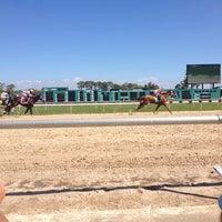 Photo taken at Tampa Bay Downs by Desiree D. on 1/30/2013