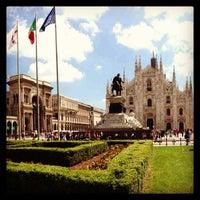 Photo taken at Piazza del Duomo by Domenico B. on 5/27/2013