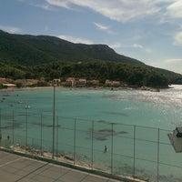 Photo taken at Žuljana Plaža by Nathalie C. on 8/23/2016