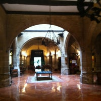 Photo taken at Parador Santo Domingo de la Calzada by David L. on 11/4/2012