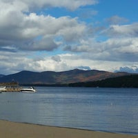 Photo taken at Lake George, NY by Michelle M. on 10/17/2015
