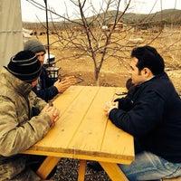 Photo taken at Mustafa Ök Çiftliği by Volkan Ç. on 2/2/2014