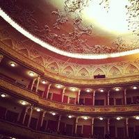 Снимок сделан в Театр им. Ивана Франко пользователем Ksusha K. 12/5/2012