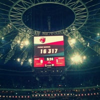 Photo taken at O2 arena by Дмитрий М. on 10/9/2012