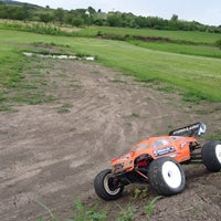 Photo taken at TOTOLAND RC RACETRACK by Krisztián C. on 5/24/2014