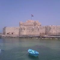 Photo taken at Citadel of Qaitbay by Magd I. on 5/5/2013
