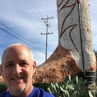 Photo taken at World's Largest Cowboy Boots by Tim L. on 11/19/2017