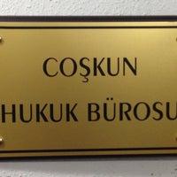 Photo taken at Coskun Hukuk Burosu by C Baran C. on 1/10/2014