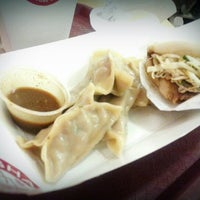 Photo taken at Rickshaw Dumpling Bar by Vanessa C. on 12/5/2012