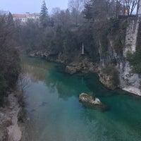 Photo taken at Ponte del Diavolo by Jacopo T. on 2/23/2017