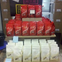 Photo taken at Lindt Factory Outlet by AJ D. on 1/6/2013