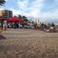 Photo taken at Platja Eurosol by Manuel M. on 6/23/2013