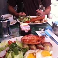 Photo taken at Cafe Steinhof by Keira C. on 9/25/2012
