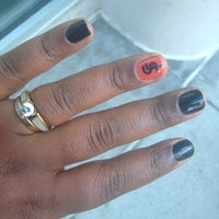 Photo taken at Finest Nail by Jasmine D. on 10/27/2012