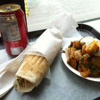 Photo taken at 3 Brothers Shawarma And Poutine by Kelsey R. on 2/11/2013