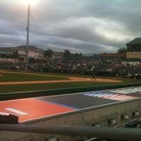 Photo taken at Roger Dean Stadium by Kathy H. on 3/22/2013