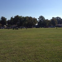 Photo taken at Deepwater Soccer Fields by Terri J. on 10/26/2013