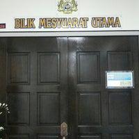 Photo taken at Bilik Mesyuarat Utama, JKDM GP Johor by Tengku A. on 9/10/2013