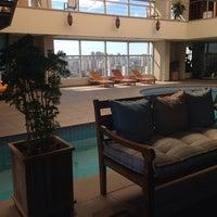 Photo taken at Prodigy Grand Hotel & Suites Berrini by Fernanda L. on 2/6/2014